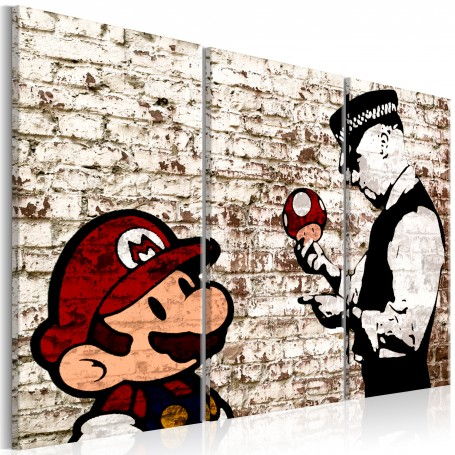 Tavla - Mario Bros: Torn Wall