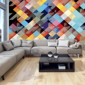 Fototapet - Colour Patchwork