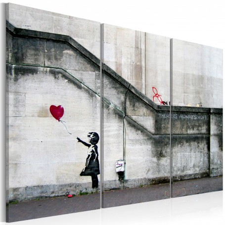 Tavla - Girl With a Balloon by Banksy