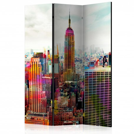 Rumsavdelare - Colors of New York City [Room Dividers]