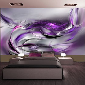 Fototapet XXL - Purple Swirls II