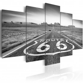 Tavla - Route 66 - black and white