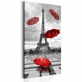 Tavla - Paris: Red Umbrellas