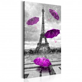 Tavla - Paris: Purple Umbrellas