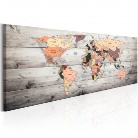 Tavla - World Maps: Wooden Travels