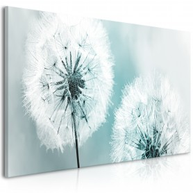 Tavla - Fluffy Dandelions (1 Part) Blue Wide