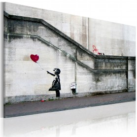 Tavla - There is always hope (Banksy)